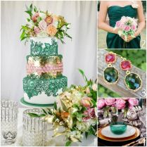 60 Best Emerald Green Cakes Images On Emasscraft Org