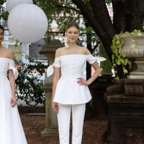 8 City Hall Wedding Dresses From Bridal Fashion Week