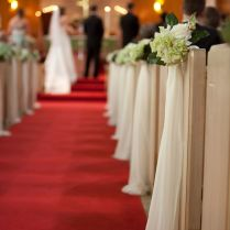 98 Staggering Wedding Bows For Church Decorations Picture