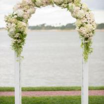 Adorable Decorated Arches For Weddings 22