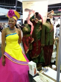 African Couture On Twitter Its Day 2 At The Wedding Expo And We