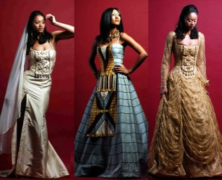 African Theme Wedding Gowns