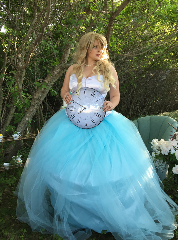 Alice In Wonderland Wedding Dress