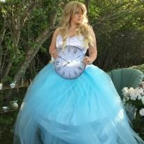 Alice In Wonderland Wedding Dress Tutorial