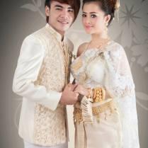 Aok Sokunkanha & Chhorn Sovannareach Wedding Dress