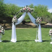 Awesome Decorated Arches For Weddings 4