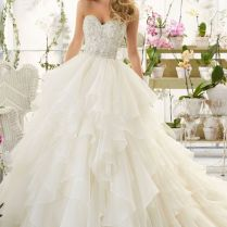 Awesome Fancy Wedding Dresses Images