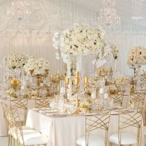 Awesome Gold Wedding Decorations 28