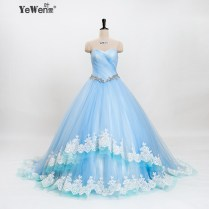 Awesome Light Blue Wedding Dresses Gallery