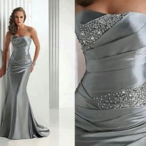 Awesome Silver Dresses For 25th Wedding Anniversary 33 For Your
