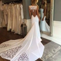 Backless Wedding Gowns Best 25 Backless Wedding Dresses Ideas On