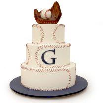 Baseball Themed Wedding Cake » Wedding Cakes