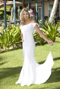 Beach Wedding Dress Hawaii