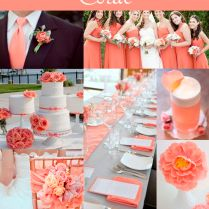Beautiful Coral Colour Wedding Decorations 80 With Additional