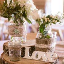 Beautiful Mason Jar Wedding Decorations 10