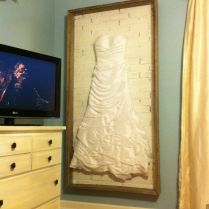 Beautiful Wedding Dress Display Case Images
