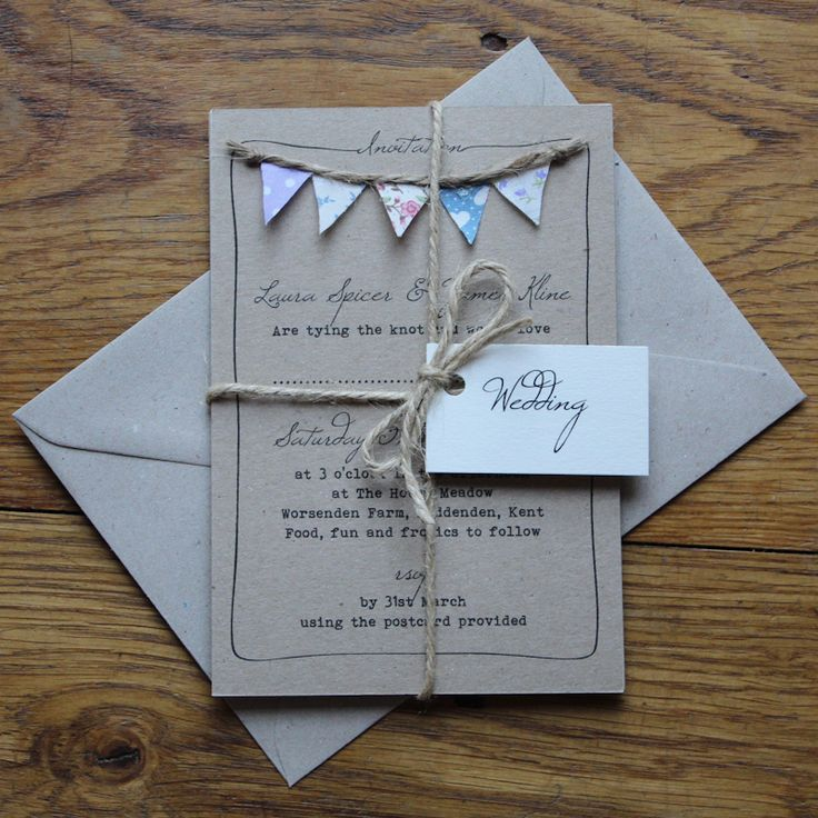 Homemade Wedding Invitations.Homemade Wedding Invitations