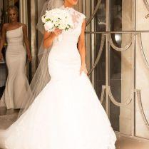 Best 25 Lace Fishtail Wedding Dress Ideas On Emasscraft Org