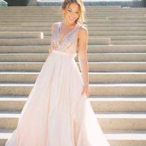 Best 25 Rose Gold Wedding Dress Ideas On Emasscraft Org