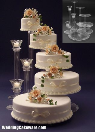 Best 25 Tiered Wedding Cake Stands Ideas On Emasscraft Org Rustic Cake