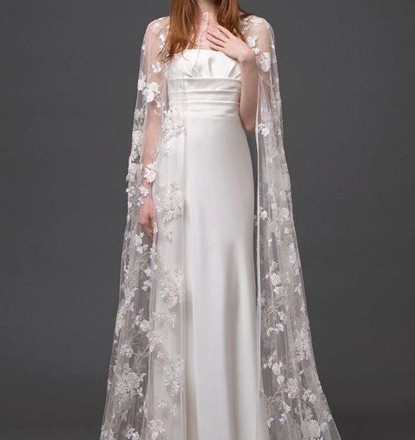Best 25 Wedding Dress Cape Ideas On Emasscraft Org