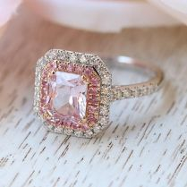 Best And Newest Pink Wedding Rings Trusty Decor Pink Wedding Rings