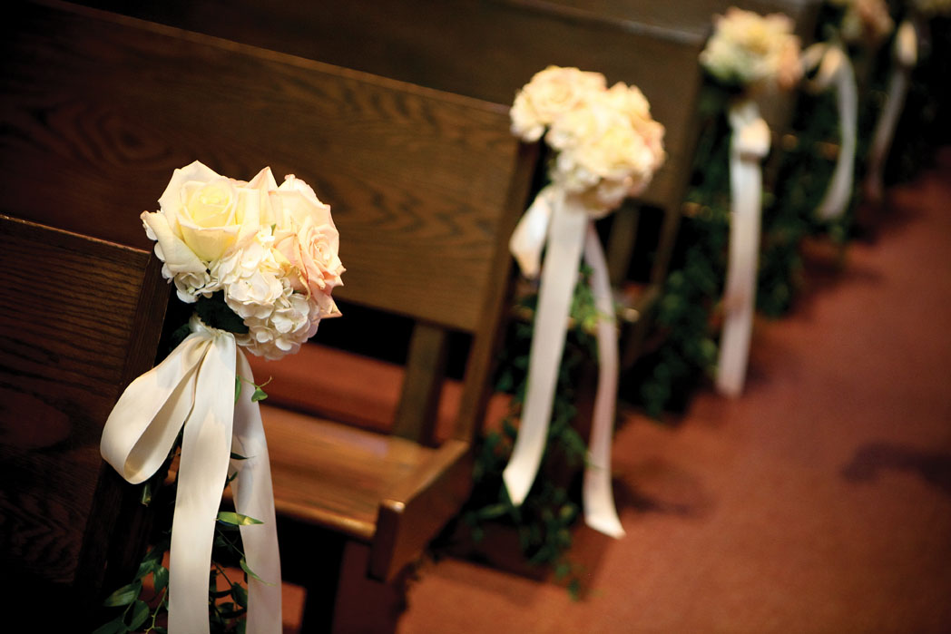 Wedding Church Pews Decorations Image Collections Wedding