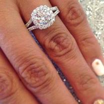 Big Expensive Wedding Rings Wedding Ring Finger Woman – Slidescan