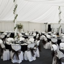 Black White And Silver Wedding Theme Great Black And White Wedding