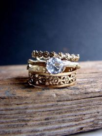 Boho Wedding Rings Best 25 Bohemian Wedding Rings Ideas On