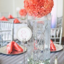 Breathtaking Coral And Silver Wedding Decorations 64 In Wedding