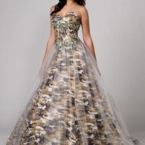 Camouflage Wedding Dresses Tips