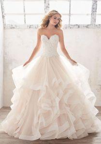 Captivating Ruffle Bottom Wedding Dress 88 About Remodel Princess