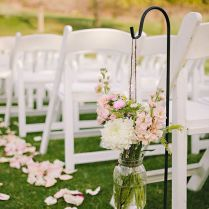 Charming Outside Wedding Ceremony Decorations 46 For Your Table