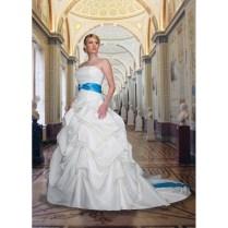 Cheap Baby Blue Wedding Dresses 2110