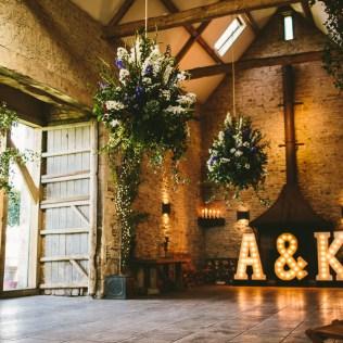 Claire Pettibone Lace Dress In A Rustic Barn Wedding In The
