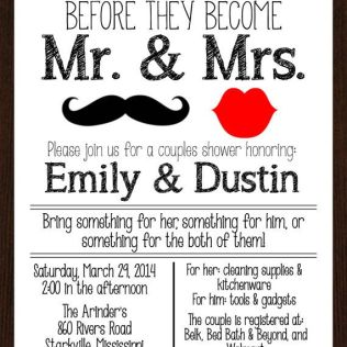 Coed Wedding Shower Invitations Coed Wedding Shower Ideas Download