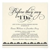 Coed Wedding Shower Invitations Coed Wedding Shower Invitations