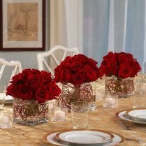 Cool Red Wedding Table Centerpieces 33 For Wedding Tables And
