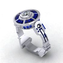 Cool Wedding Rings Set For Men And Women
