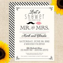 Couples Bridal Shower Invitations Couples Bridal Shower
