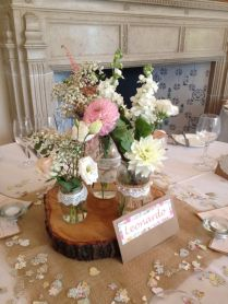 Decorating Jam Jars For Wedding