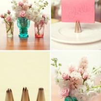 Diy Cake Icing Tip Place Card Holders