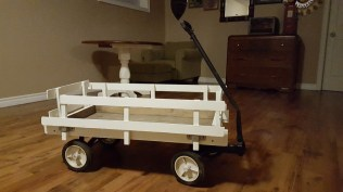 Diy Wedding Wagon For The Flower Girl