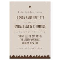 Drawn Together Wedding Invitations