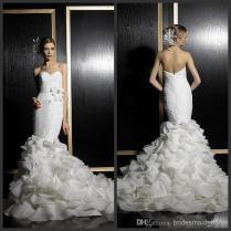 Epic Wedding Dress Ruffle Bottom 91 In Vera Wang Wedding Dresses