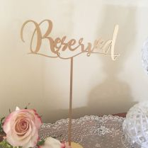 Excellent Reserved Table Signs For Wedding 56 About Remodel