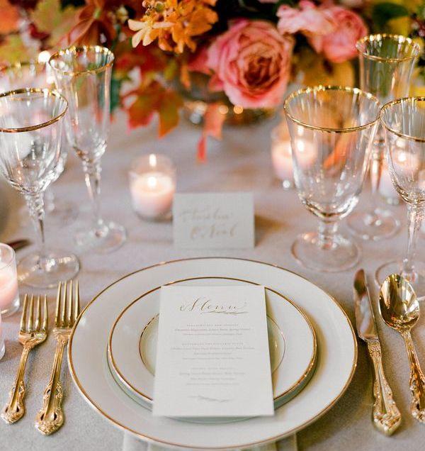 Extraordinary Elegant Dinner Table Settings 61 On Home Design