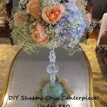 Extravagant Shabby Chic Centerpieces Boho Modest Centerpiece Rose