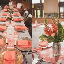 Fabulous Coral Wedding Centerpiece Ideas Wedding Decoration Ideas